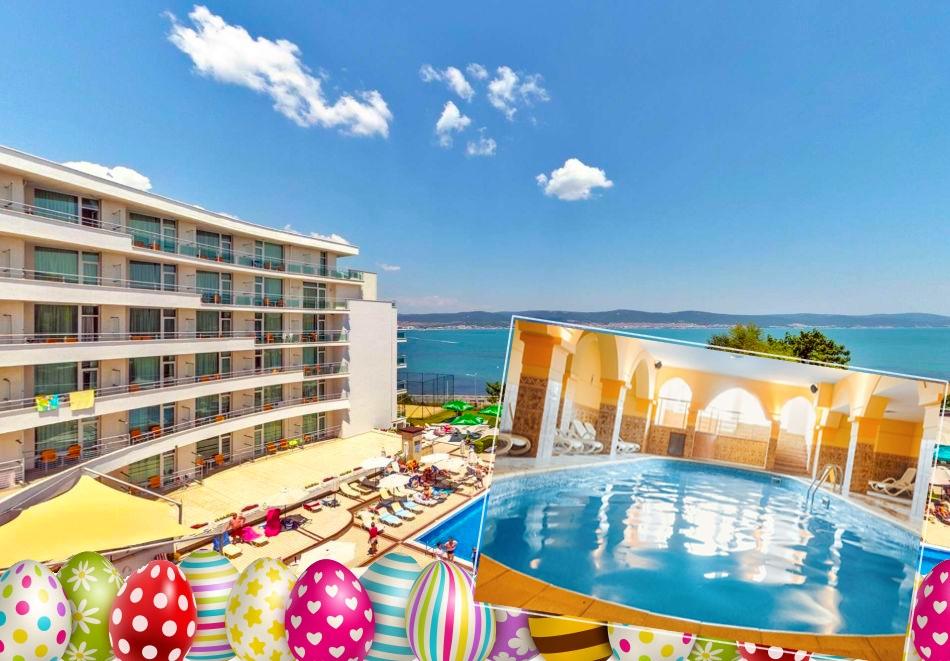 Великден в Несебър! 3 нощувки на човек на база All Inclusive + баесйн и СПА пакет в хотел Феста Панорама****