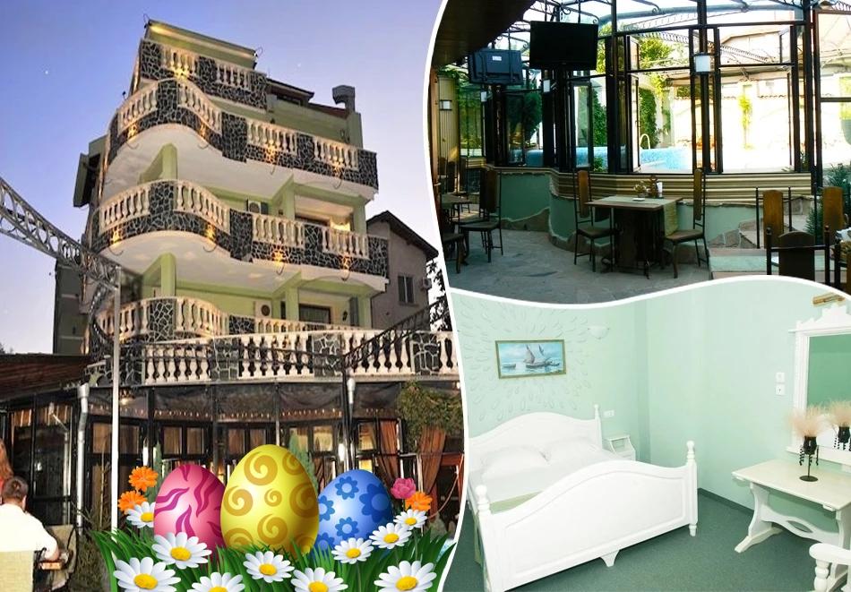 Великден в хотел Боряна, кв. Крайморие, Бургас! 3, 5 или 7 нощувки на човек със закуски + празничен обяд