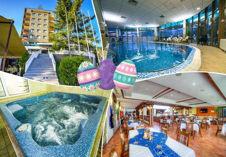 Великден в Спа хотел Девин! 3 или 4 нощувки на човек със закуски и празнична вечеря + топъл басейн и СПА зона