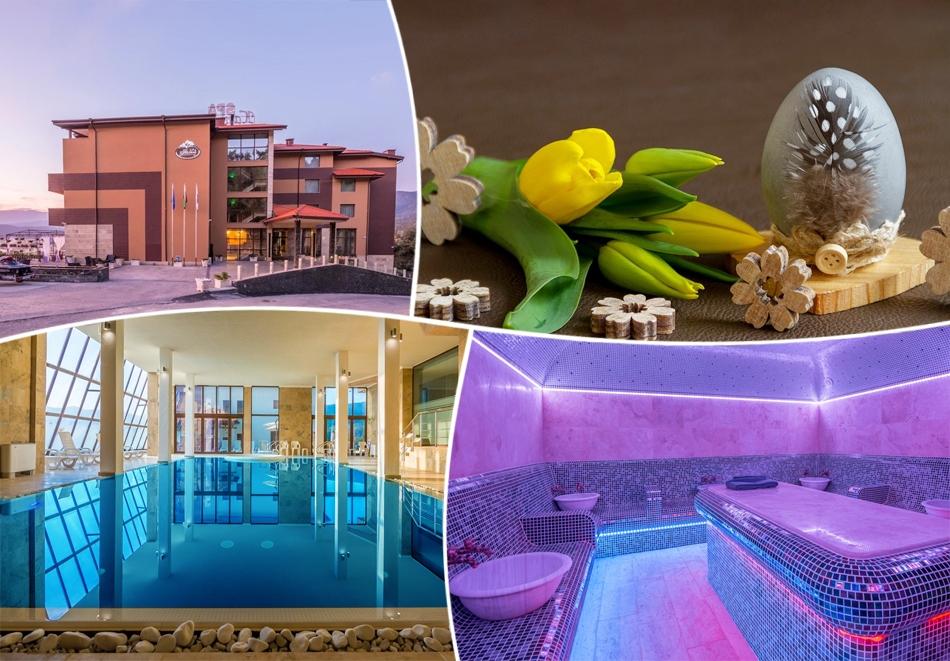 Великден в Цигов чарк. 3 или 4 нощувки на човек със закуски и вечери, празничен обяд + басейн и спа пакет в хотел Каталина Ризорт****