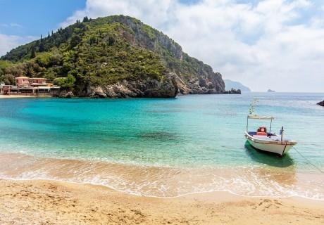Почивка на остров Корфу, Гърция! Автобусен транспорт от София + 4 нощувки на човек със закуски и вечери + басейн в хотел Pink Palace Beach Resort!