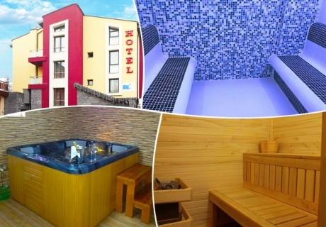 2 нощувки на човек със закуски и вечери + релакс зона в семеен хотел Свети Георги, Велинград