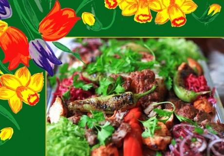 За Великден и Гергьовден: Традиционно агнешко печено с картофи и букет от ароматни пресни подправки от Кулинарна работилница Деличи