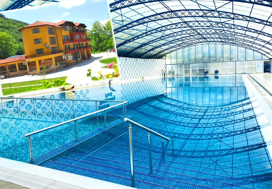 Нощувка за ДВАМА със закуска + 3 минерални басейна и релакс зона в хотел Делта, Огняново