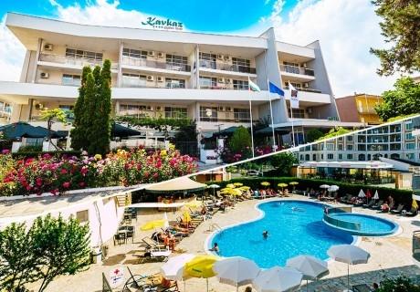 Нощувка на човек на база All Inclusive + басейн на 50 м. от плажа в хотел Кавказ Голдън Дюн****, Слънчев Бряг