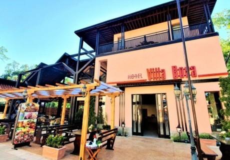 3, 5 или 7 нощувки на човек със закуси в хотел Вила Бора, на 80 м. от плажа в Слънчев Бряг