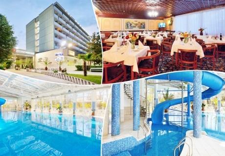 5+ нощувки за двама или трима със закуски и вечери + минерални басейни, джакузи и релакс пакет в хотел Аугуста, Хисаря