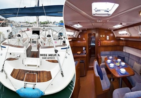4 часа разходка с яхта около Несебър, Равда, Слънчев бряг, Свети Влас и нос Емине + храна и напитки, от Яхта Мис Мелина