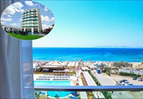 8 дневна почивка в Айвалък, Турция през август и септември 2021! Автобусен транспорт от София + 7 нощувки на човек на база All Inclusive в Hotel Musho 4*, на първа линия
