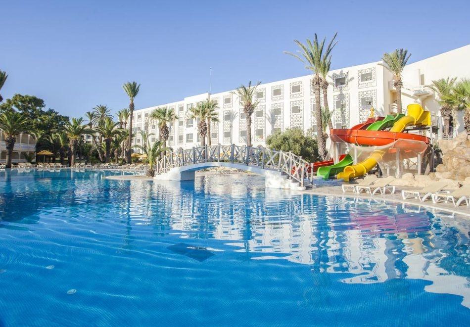 Почивка в хотел OCCIDENTAL SOUSSE MARHABA 4*, Сус, Тунис 2021. Чартърен полет от София + 7 нощувки на човек на база All Inclusive !
