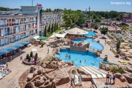 Нощувка на човекна база All Inclusive + БАСЕЙН и АКВАПАРК в хотел Котва****, Слънчев бряг