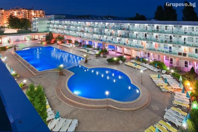 Нощувка на човексъс закуска + БАСЕЙН и АКВАПАРК в хотел Котва****, Слънчев бряг