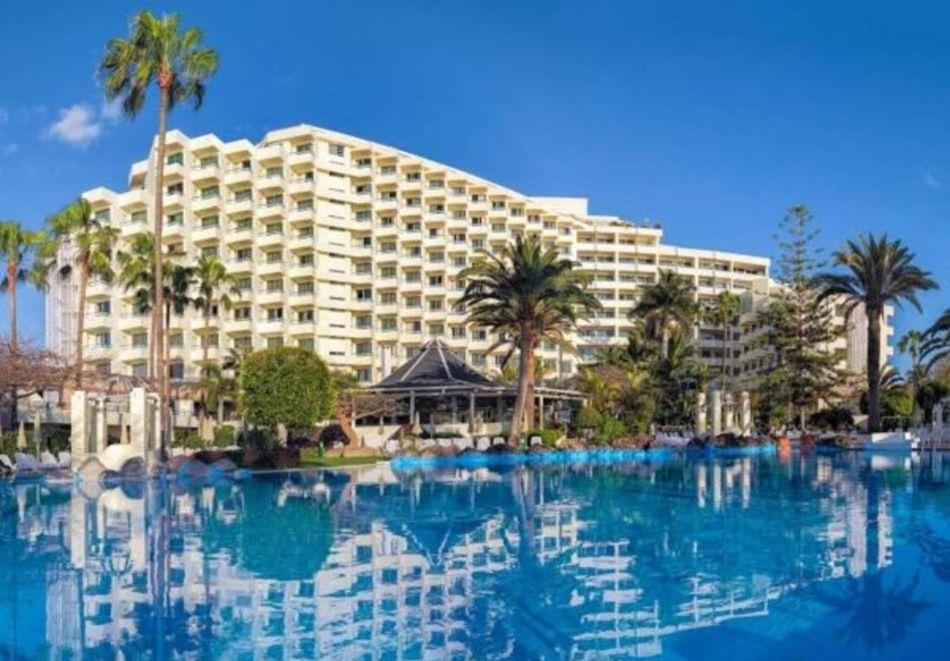 Почивка на о. Тенерифе, Испания. Чартърен полет от София + 7 нощувки на човек със закуски и вечери в хотел H10 LAS PALMERASE 4* !