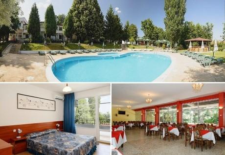 Нощувка на човек със закуска + басейн от Парк хотел Здравец***, к.к. Чайка. Дете до 12г. - БЕЗПЛАТНО!