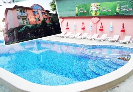 Нощувка на човек + минерален басейн и релакс пакет в хотел Релакс, Стрелча