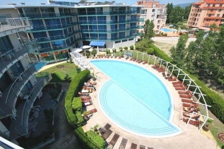 Нощувка на човек на база All Inclusive в Апарт хотел Синя Ривиера, Слънчев бряг. Дете до 10г. - БЕЗПЛАТНО!
