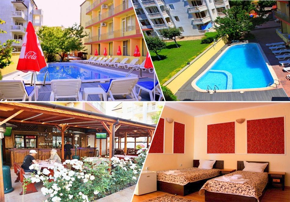 Септември в Слънчев бряг! Нощувка на човек със закуска и вечеря + басейн в хотел Риор. Дете до 12г. – БЕЗПЛАТНО!