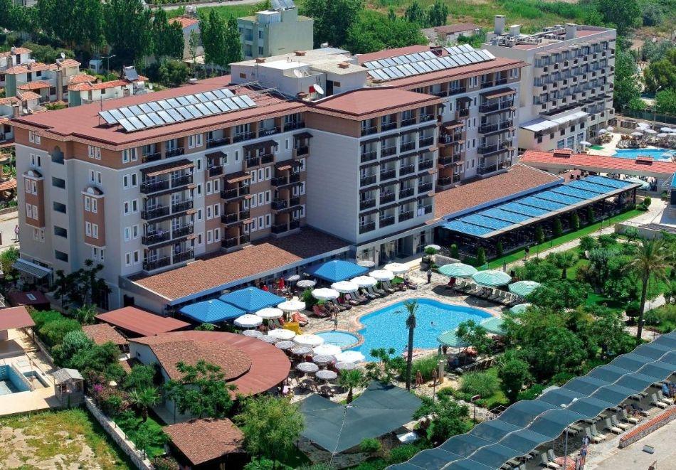 Почивка в CACTUS CLUB PARADISE 4*, Кушадасъ, Турция през август и септември 2021. Чартърен полет от София + 7 нощувки на човек на база  All Inclusive!