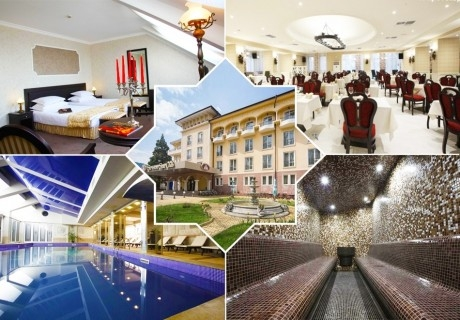 Делник в Кюстендил! 3 нощувки със закуски за ДВАМА + СПА и басейн с минерална вода + една процедура от СПА хотел Стримон Гардън*****