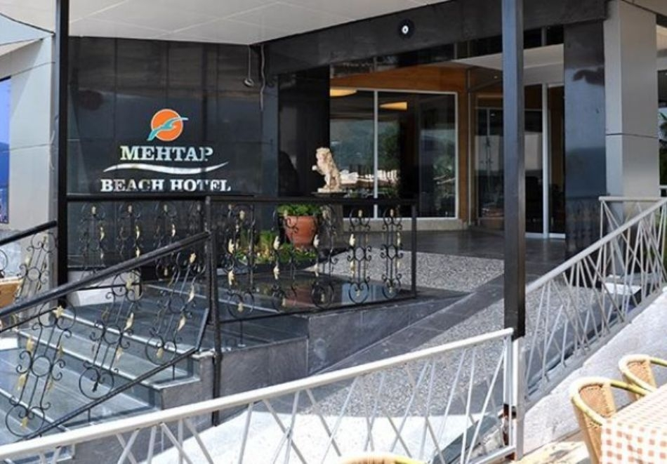 Почивка в MEHTAP BEАCH HOTEL  4*, Мармарис, Турция през август и септември 2021. Чартърен полет от София + 7 нощувки на човек на база All Inclusive!