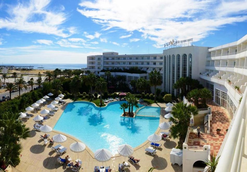 Почивка в LAICO HOTEL  5*, Хамамет, Тунис 2021. Чартърен полет от София + 7 нощувки на човек на база All Inclusive !