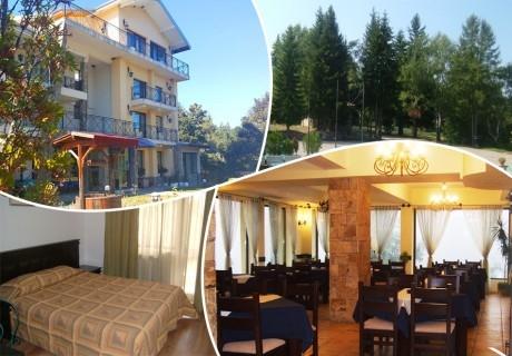2 + нощувки на човек със закуски, обеди и вечери в хотел Виа Траяна, Беклемето, до Троян