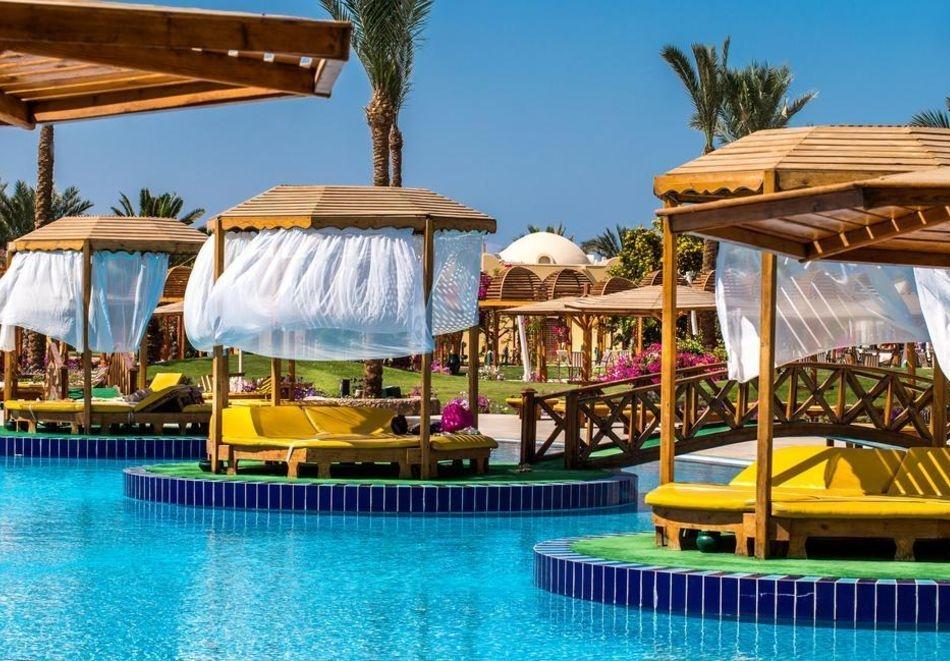Почивка в Хургада, Египет! Чартърен полет от София + 6 нощувки на човек на All Inclusive в DESERT ROSE 5* +1 нощувка, закуска, вечеря и посещение на пирамидите в Кайро