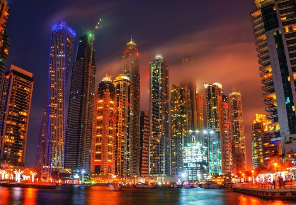 Петдневна екскурзия до Дубай! Полет от София + 4 нощувки на човек + закуски и вечери в хотел Milenium Place Barsha Heights 4*   + тур на Дубай + круиз + сафари в пустинята!
