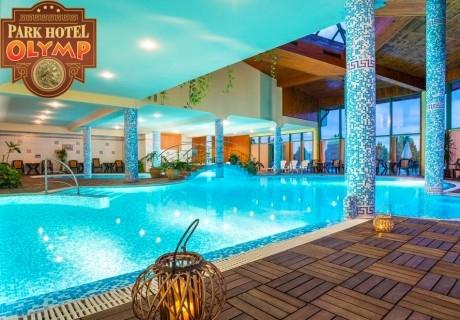 Делник във Велинград! 2 + нощувки със закуски на човек + минерален басейн и СПА в Парк хотел Олимп****