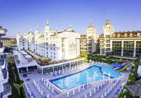Почивка през октомври в хотел SIDE ROYAL PALACE 5*, Сиде, Турция! 7 нощувки на човек на база Ultra All Inclusive! Дете до 12.99г. безплатно! Собствен транспорт!
