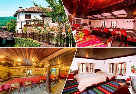 Коледа в Боженци! 2+ нощувки в самостоятелна къща с капацитет до 17 човека + ползване на механа от Парлапанова къща