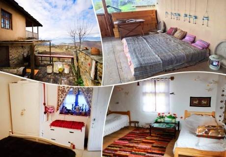 Нощувка в самостоятелна къща до 4 човека от къща Дими, Лещен