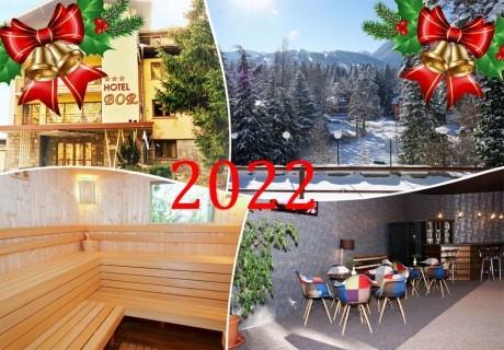 Нова година в Боровец! Нощувка на човек със закуска и вечеря в хотел Бор. Доплащане на място за Новогодишен куверт!