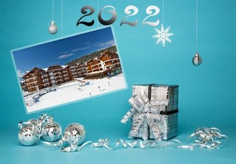 Нова година край Банско! 3, 4 или 5 нощувки на човек със закуски и вечери, едната празнична + минерален басейн и релакс зона в Комплекс Реденка Холидей Клуб