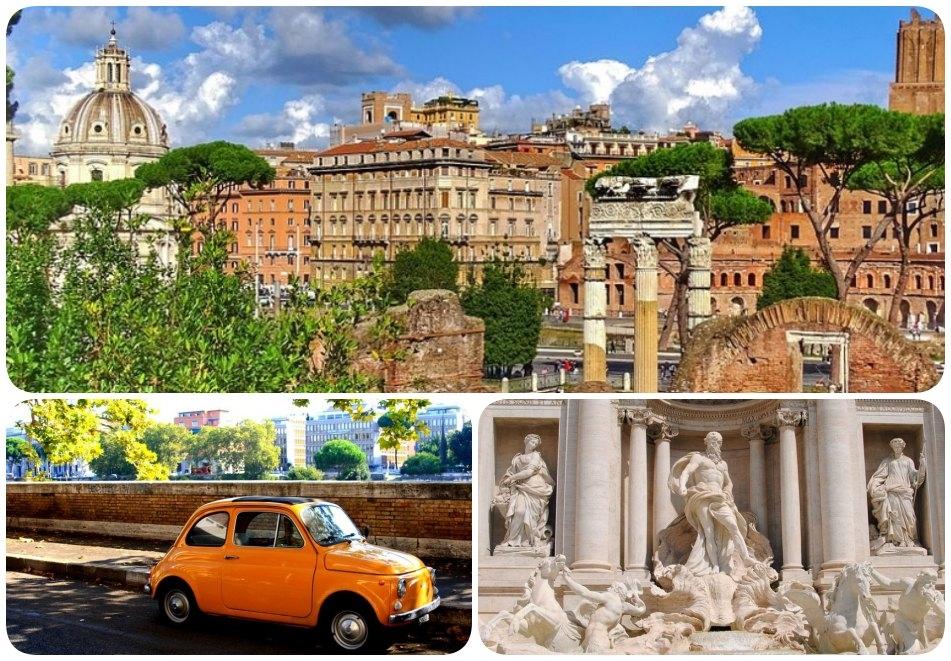 Ciao Italia! Екскурзия до Рим, Италия! Самолетен билет от София + 4 нощувки на човек със закуски!