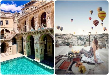 Почивка в ELIKA CAVE SUITES,  Кападокия, Турция! Чартърен полет от София + 3 нощувки на човек със закуски и вечери + посещение на Ритуал на дервишите!