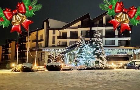 Коледа в Банско! 2, 3 или 4 нощувки на човек със закуски и празнични вечери + закрит басейн и релакс зона от Аспен Резорт***
