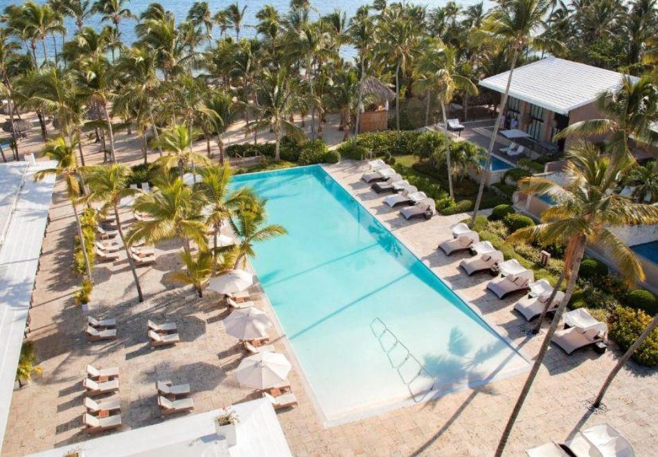 Почивка в хотел  CATALONIA ROYAL BAVARO (ADULTS ONLY) 5*, Пунта Кана, Доминикана от октомври до декември 2021. Чартърен полет от София + 7 нощувки на човек, на база All Inclusive!
