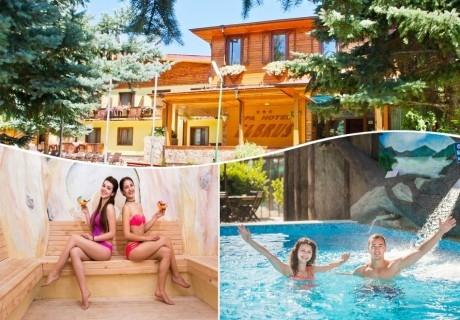 СПА почивка във Велинград! 3 + нощувки на човек със закуски, обеди и вечери + 3 процедури на ден + МИНЕРАЛНИ басейни и релакс зона в хотел Елбрус***