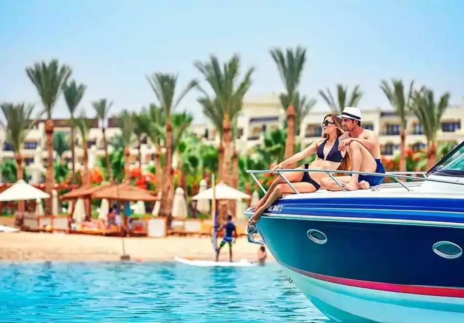 Почивка в Хургада, Египет! Чартърен полет от София + 6 нощувки на човек на All Inclusive в STEIGENBERGER AL DAU BEACH HOTEL 5* +1 нощувка, закуска, вечеря и посещение на пирамидите в Кайро!
