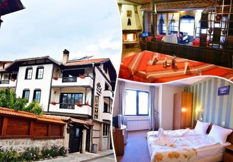 Нощувка на човек със закуска и вечеря* в Семеен хотел Свети Георги Победоносец, Банско