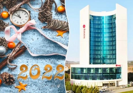 Посрещни Нова година 2022 в Ramada Hotel & Suites By Wyndham, Одрин, Турция! 2 нощувки на човек със закуски и вечери, едната празнична!