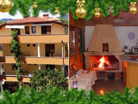 Коледа в Хисаря! Наем на Вила Стряма за 2 нощувки със закуски за 30 човека