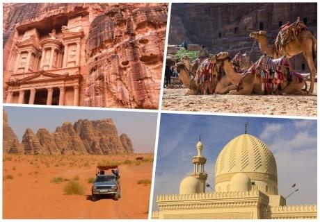 Екскурзия в Йордания през ноември и декември! Самолетен билет от София + 4 нощувки на човек със закуски!