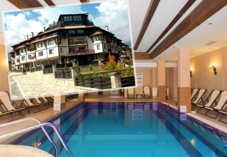 8-ми декември в Банско! 2 нощувки на човек със закуски и празнична вечеря + топъл басейн и СПА зона от хотел Мария Антоанета