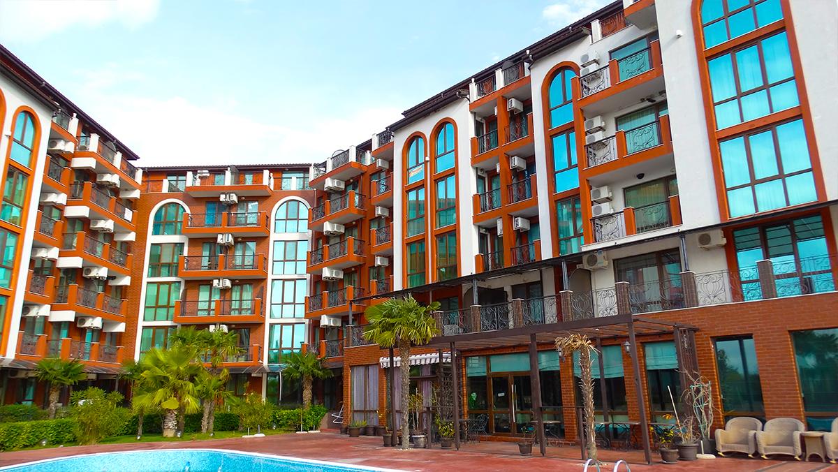 Апартаментен комплекс Шато Дел Марина, между Равда и Несебър, снимка 12