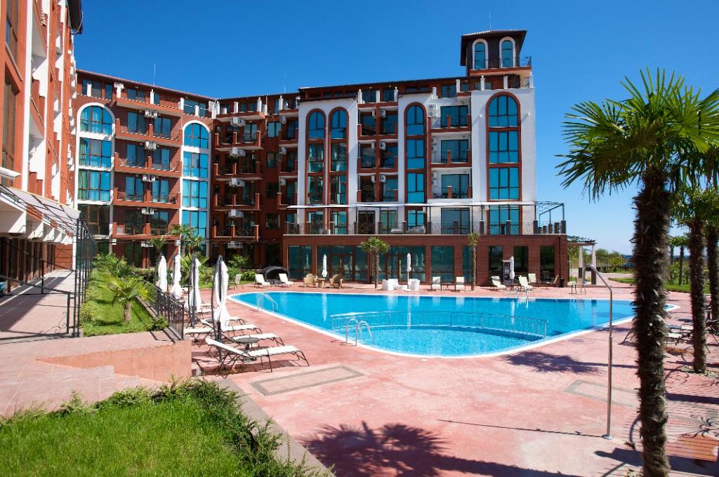 Апартаментен комплекс Шато Дел Марина, между Равда и Несебър, снимка 13