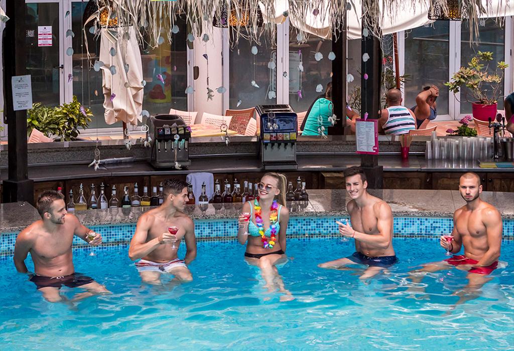 Ранни записвания за лято 2021 в Златни Пясъци! Нощувка на човек на база All inclusive + 2 външни басейна и водни пързалки в СООЕЕ Мимоза Съншайн хотел****. Дете до 13г. - БЕЗПЛАТНО!, снимка 4