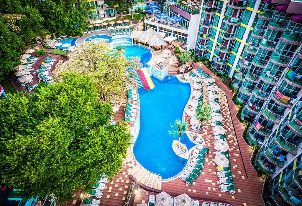 Почивка в Златни пясъци! Нощувка на човек на база All inclusive + 2 външни басейна и водни пързалки в СООЕЕ Мимоза Съншайн хотел****. Дете до 13г. - БЕЗПЛАТНО!, снимка 3