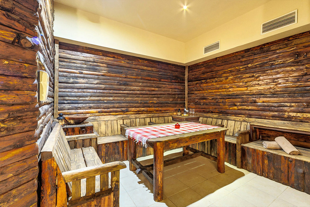 Нощувка в апартамент за четирима + руска баня в  апарт хотел Дрийм***, Банско, снимка 6